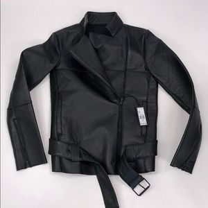 KENNETH COLE Black Label Moto Jacket